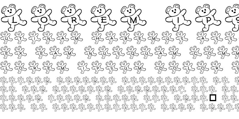 Sample of JLR Teddy Bear