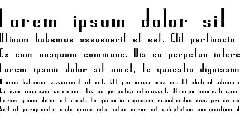 Sample of Joe 14 Bold