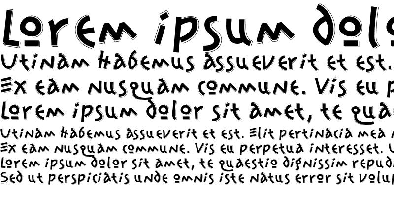 Sample of JonasSplint Regular