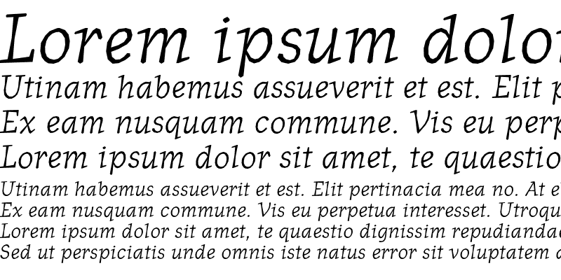 Sample of JournalItalic