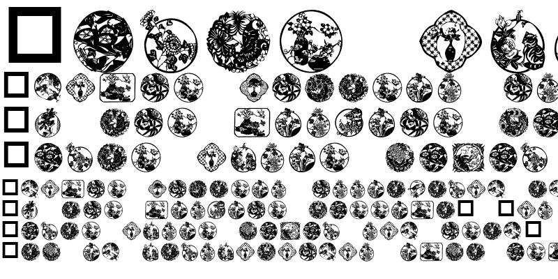 Sample of JW Floral Dings V.1