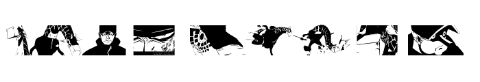 Preview of Kaku Dingbats One Piece Art One Piece Area Regular
