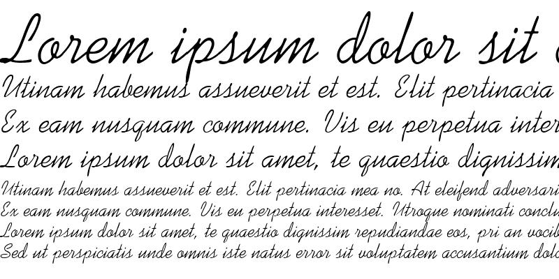 Sample of Kaufmann Script