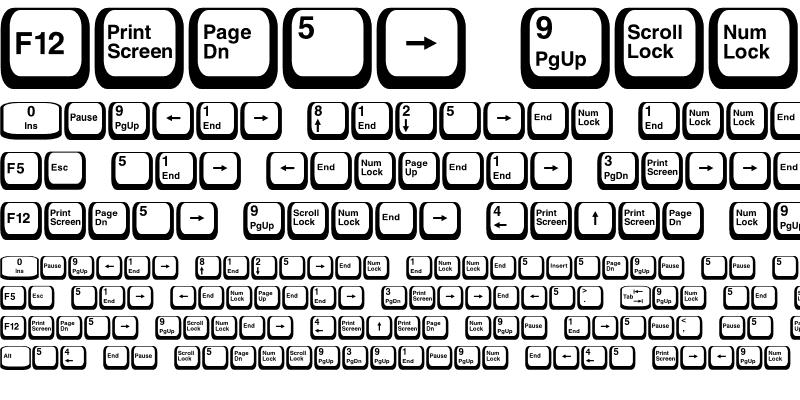 Sample of Keyboard2