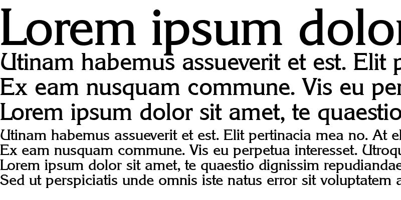 Sample of Korinth-Medium Regular