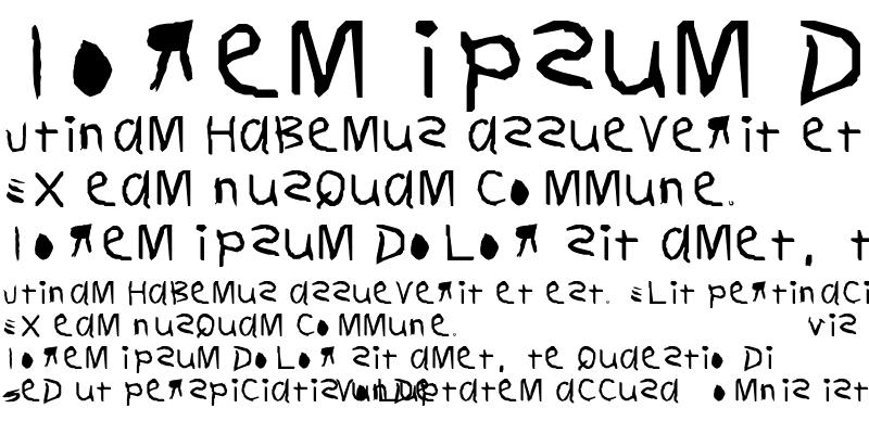 Sample of KoRny Regular
