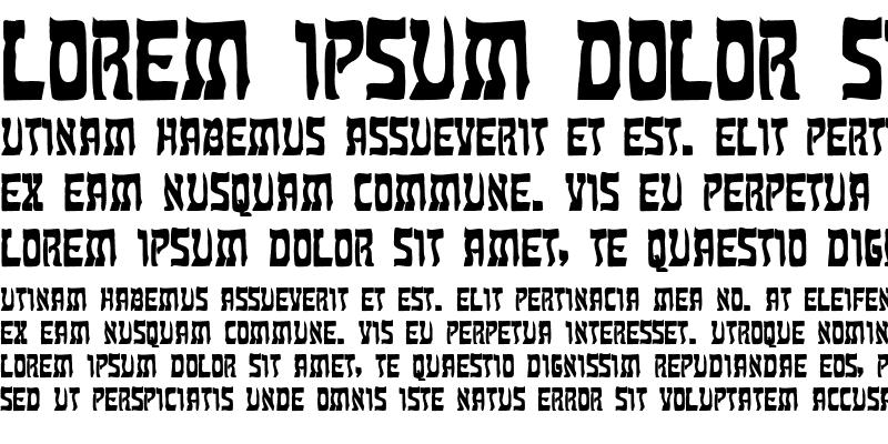 Sample of Kosher Bold