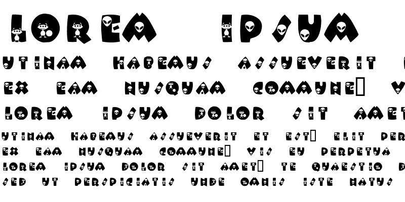 Sample of KR Alien
