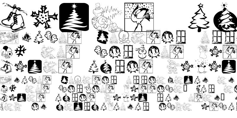 Sample of KR Christmas 2001