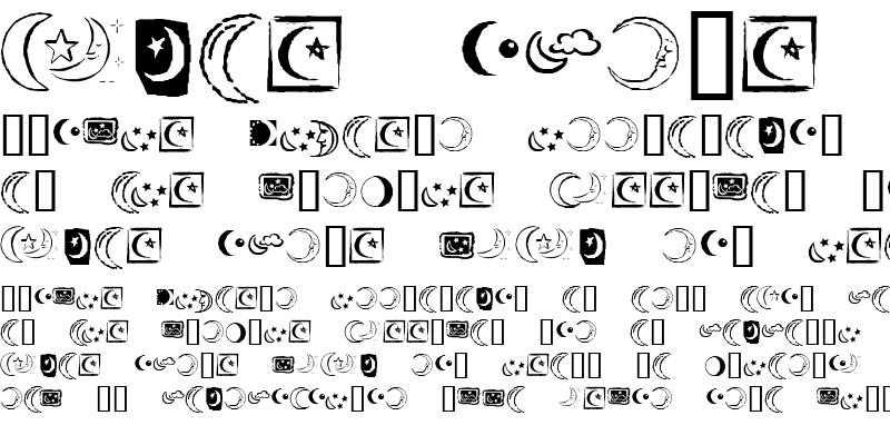 Sample of KR Crescent Moons