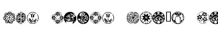 Preview of KR Fleurish Circle Regular