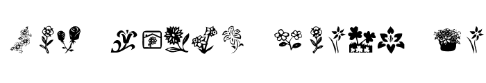 Preview of KR Kat's Flowers 4 Regular