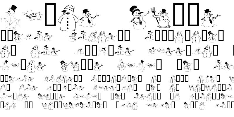 Sample of KR Snow People