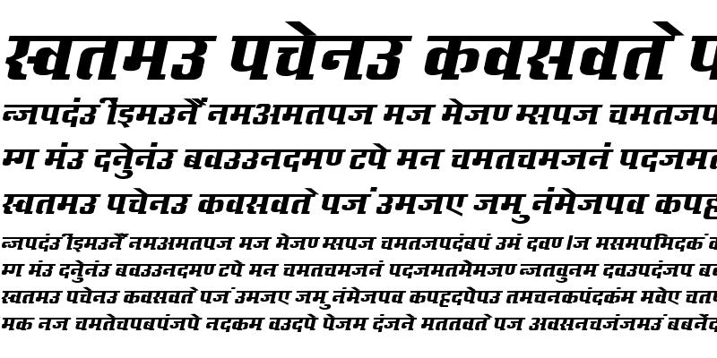 Sample of Kruti Dev 632 Normal