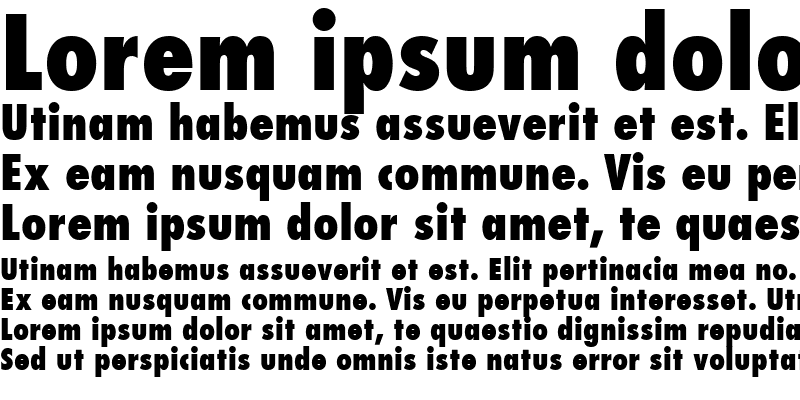 Sample of Kudos Black Condensed SSi Extra Bold Condensed