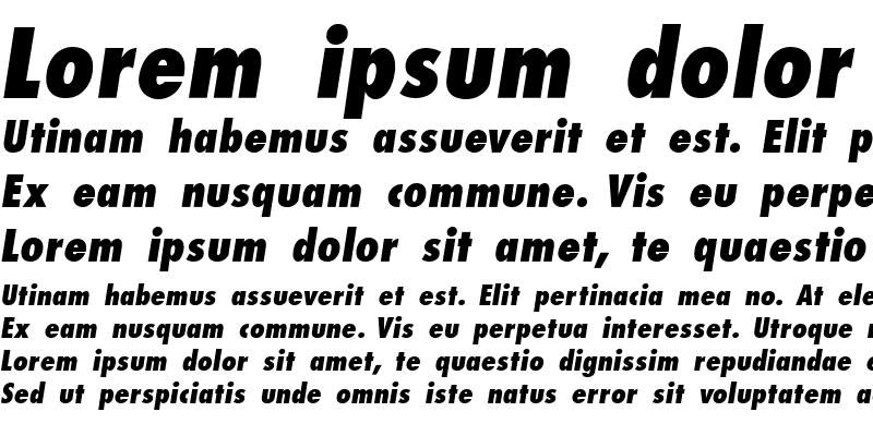Sample of Kudos Condensed SSi