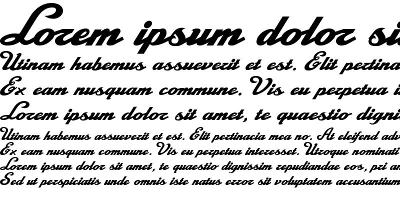 Sample of La Macchina Regular
