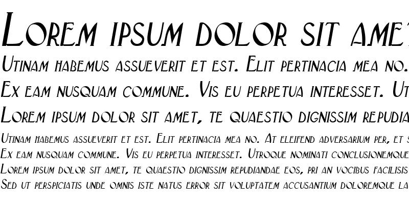 Sample of Labium