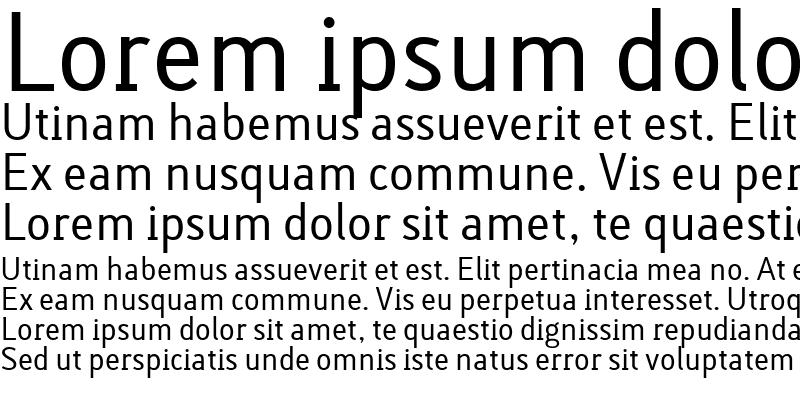 Sample of Lacuna Regular