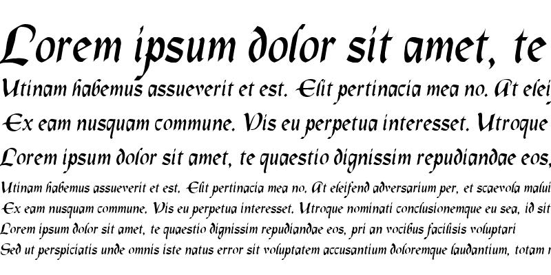 Sample of Lapilus Oblique
