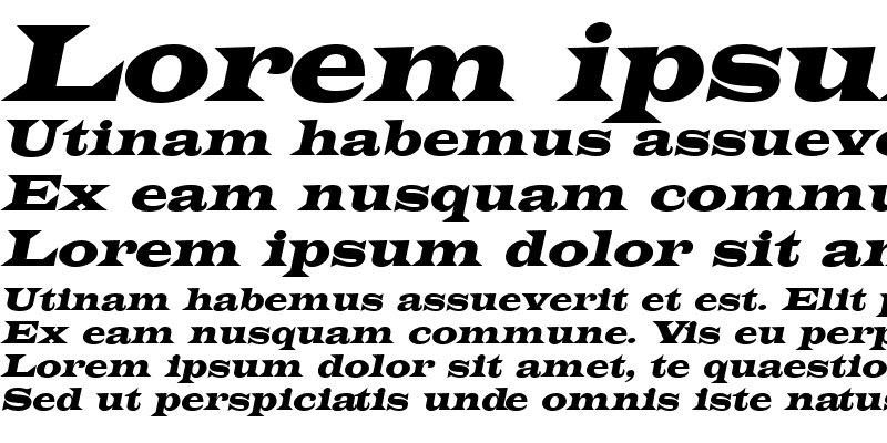 Sample of Latin-Extended
