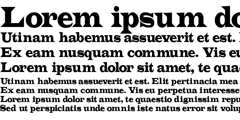 Sample of Latin Normal