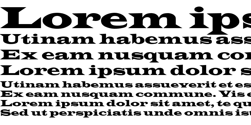 Sample of Latin Wide