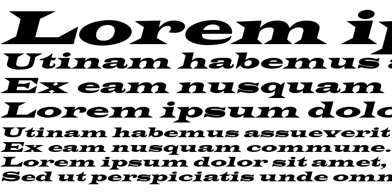 Sample of Latin-WideExtObl