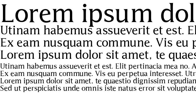 Sample of Latine