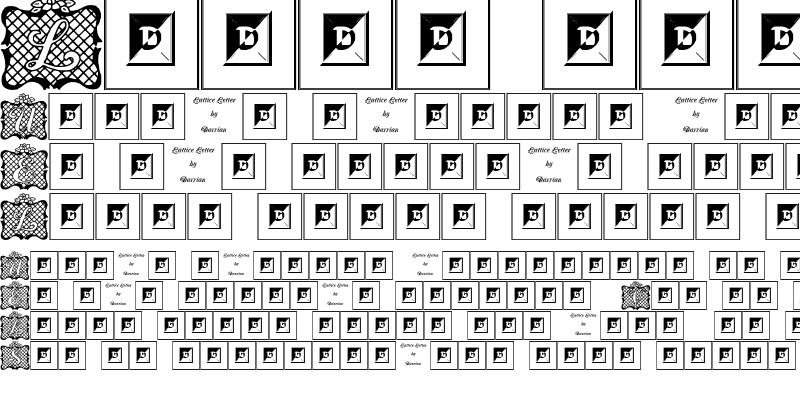 Sample of Lattice Letter