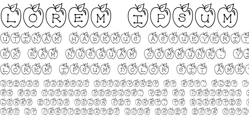 Sample of LD Apple Regular