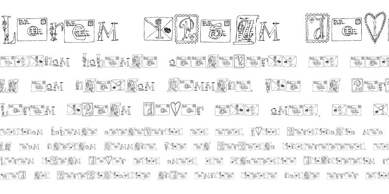 Sample of LDJ Love Letters Regular