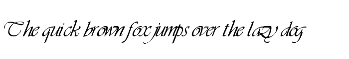 Preview of LDS Script Italic
