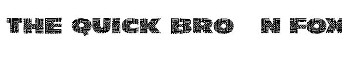 Preview of LeiterplattenSans Regular