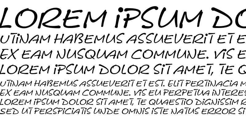 Sample of LeObelixEF