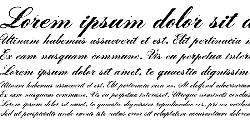 Sample of LeScript Regular