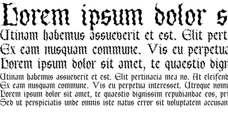 Sample of LettergicalWave