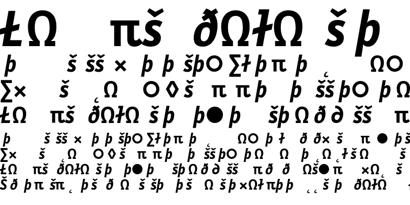 Sample of LetterGothicText Exp