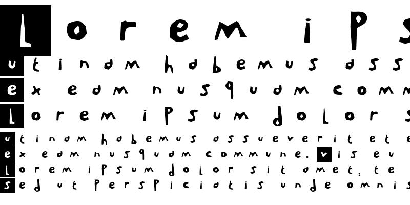 Sample of LeVincent