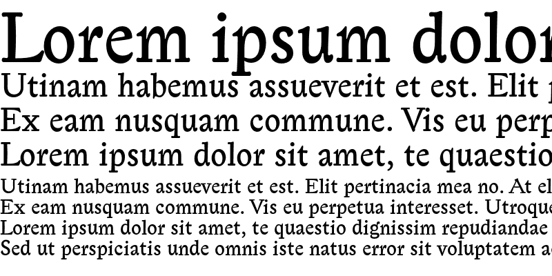 Sample of Lexicon Gothic