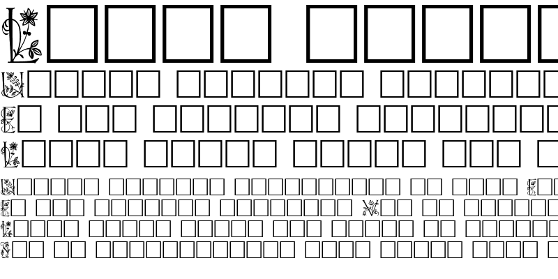 Sample of Lilith Plain