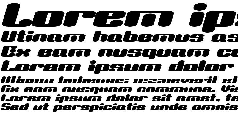 Sample of Liquid Sex Italic