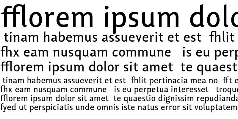 Sample of Lisboa Ligatures