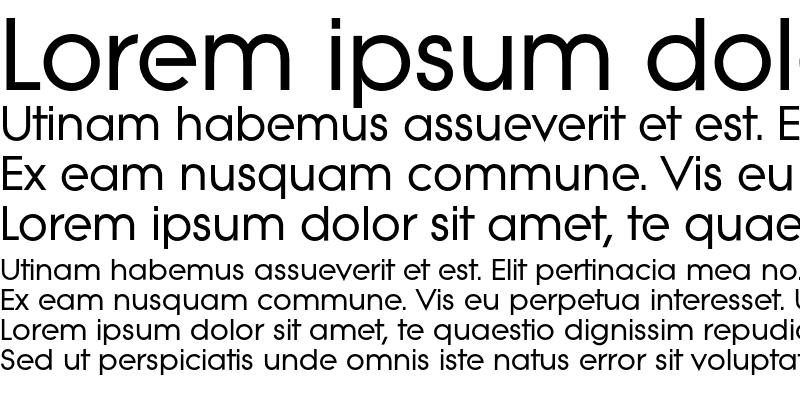 Sample of Litera-Bold