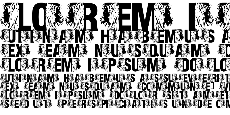 Sample of LMS King Of The Font Jungle