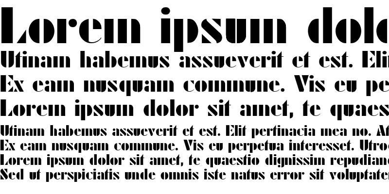 Sample of LocusSSK Bold