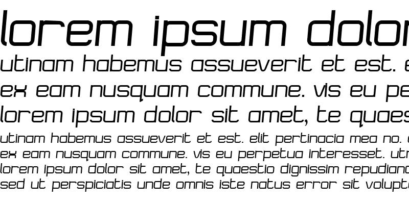 Sample of Logostile