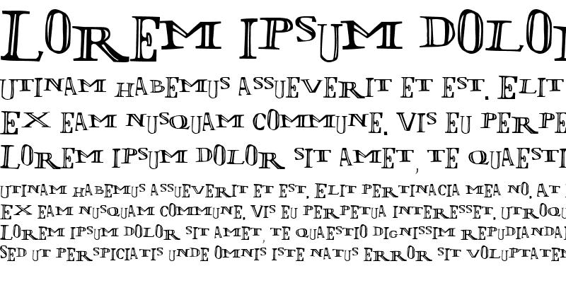 Sample of LOlivier Irregular