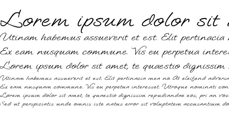 Sample of LoosieScript Regular