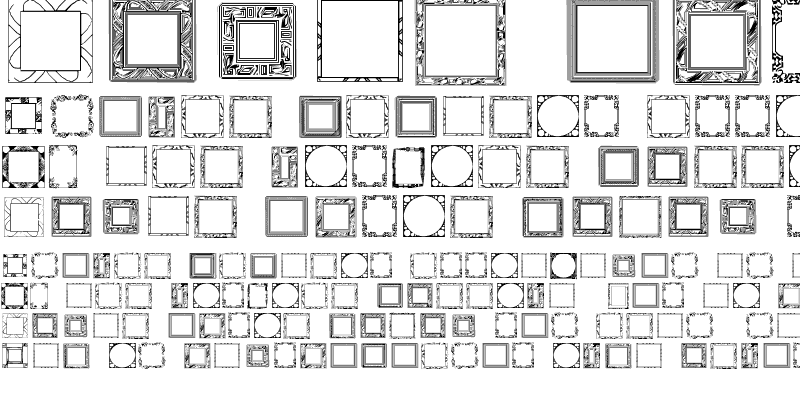 Sample of Lots of Frames